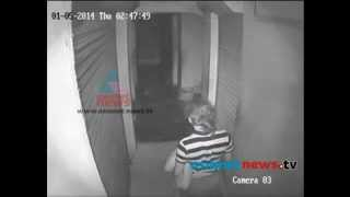 Jewellery Theft Caught On CCTV Camera  In Thrissur : FIR 3rd May 2014