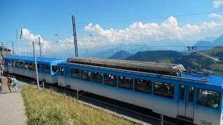 スイス発 青い色が空に映える、リギ鉄道!【スイス情報.com】