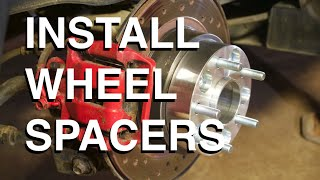 8. How to PROPERLY Install Wheel Spacers
