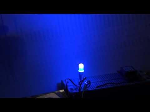 RGB LED Test - ChipKit PIC32, PicKit3, MPLAB X, C