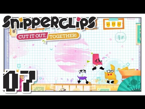Snipperclips - Dojo! - Part 7 - 3-Player