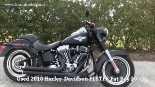 6. 2010 Harley Davidson Fat Boy Lo for sale Valrico FL
