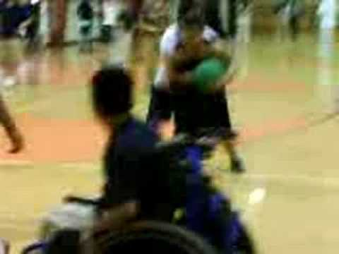 Watch video Down Syndrome: Cool basket ball trick