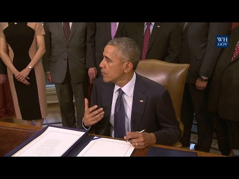 President Obama Signs S.1890 - Defend Trade Secrets Act