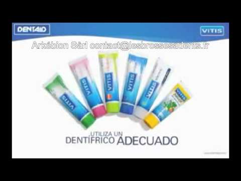 brosse à dents manuelle Dentaid_Cepillado dental Dentaid.flv