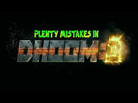 "(141 Mistakes) In Dhoom 3 - Plenty Mistakes In "" Dhoom 3 "" Full Hindi Movie - Aamir Khan & Katrina"