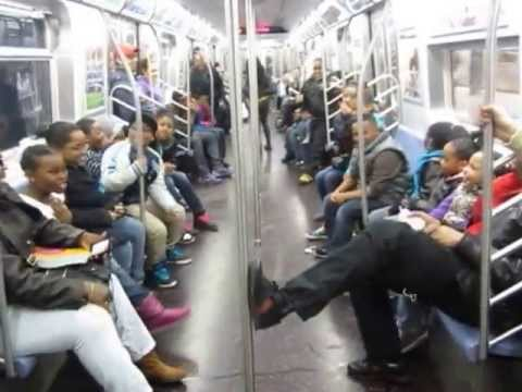 WATCH: The Cutest Subway Dance-Off You'll Ever See!