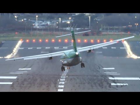 Crosswind turboprop torment