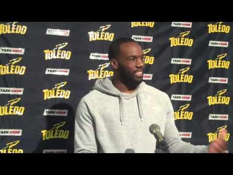 Bowl Preview David Fluellen Interview 12/3/2012 video.