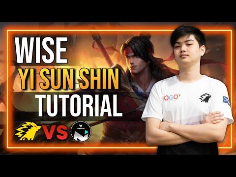 Wise Yi Sun Shin Tutorial: THE NEW META?!   Onic PH vs Nexplay