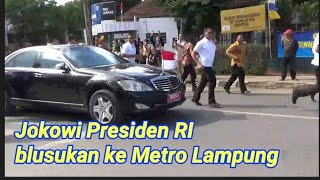 Video Jokowi Presiden RI blusukan ke metro lampung MP3, 3GP, MP4, WEBM, AVI, FLV Januari 2019