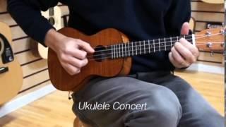 Ukulele: diferenças entre SOPRANO / CONCERT / TENOR