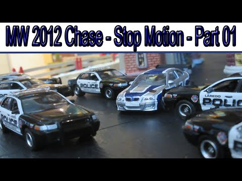 NFS Cop Chase - Stop Motion - Part 01