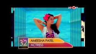 Ameesha Patel - Most Desirable Woman at No.32