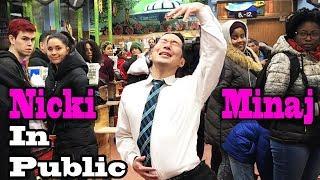 Video SINGING IN PUBLIC - NICKI MINAJ (Twerk in Public!!) MP3, 3GP, MP4, WEBM, AVI, FLV Mei 2018