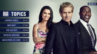 UNDISPUTED Audio Podcast (5.22.17) with Skip Bayless, Shannon Sharpe, Joy Taylor | UNDISPUTED