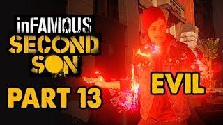 inFamous: Second Son Evil Walkthrough Part 13 - Corrupt Eugene - Evil&Expert Playthrough
