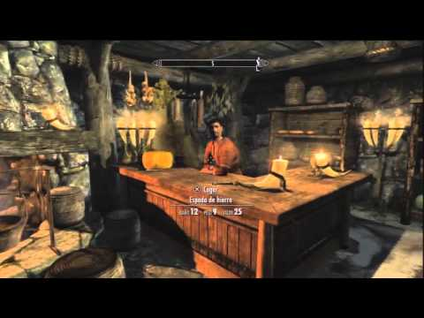 Video 2 de The Elder Scrolls V: Skyrim: Robar la garra dorada