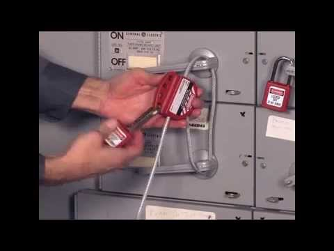 Screen capture of Master Lock Safety S806 - Cable Lockout