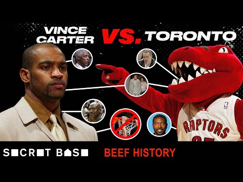 Vince Carter's 10-year beef with Toronto included Nelly, a possible body slam, and so many injuries