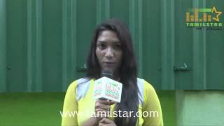 Lesha at Kizhakea Uthitha Kathal Movie Team Interview