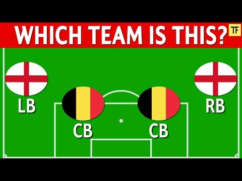 Football Quiz: Guess The Team From Defenders Nationality (Part 2)