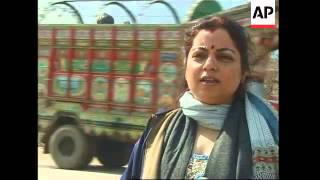 Hindu devotees travel from India to Pakistan for festival to celebrate Lord Shiva.