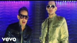Music video by Angel Y Khriz performing Ayer La Vi. (C) 2010 Machete Music.
