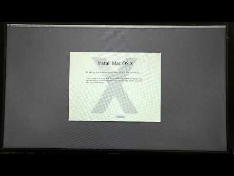 Hackintosh ivy Bridge install on GA-H61M-USB3-B3 Version 2 PART 2 (видео)