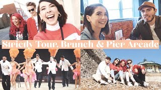 STRICTLY TOUR, BRUNCH & PIER ARCADE | WEEKLY VLOG
