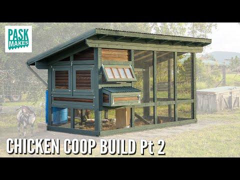 Chicken Coop Build - Now Complete [pt2]