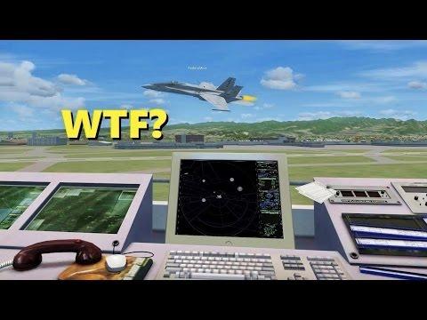 TROLLING as an Air Traffic Controller in Flight Sim X! (Multiplayer)
