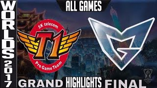Video SKT vs SSG Highlights ALL GAMES - Worlds 2017 Grand Final SK Telecom T1 vs Samsung Galaxy MP3, 3GP, MP4, WEBM, AVI, FLV Juli 2018