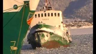 Video Thor III - icebreaker in Drammen Norway, isbryter Norge MP3, 3GP, MP4, WEBM, AVI, FLV Oktober 2018