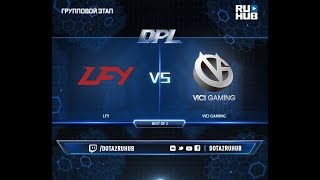 LFY vs Vici Gaming, DPL 2018, game 1 [Mila, Inmate]