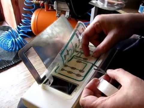 Ремонт сенсорной панели микроволновки своими руками видео