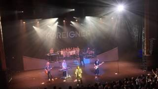 Foreigner - I Want to Know What Love Is at  London Palladium, 07/06/2016