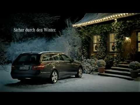 Weihnachtsgans auf der Flucht - Mercedes wünscht auf diesem Wege ein frohes Weihnachtsfest 2010 und zeigt das sie auch ein Herz für Tiere haben. Denn die...
