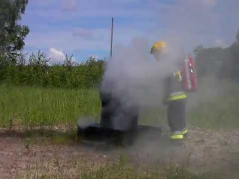 BacPac - 5 tyres extinguished with 2ltrs of water: