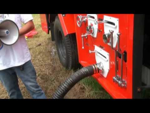 รถดับเพลิง - คู่มือการใช้รถดับเพลิง.