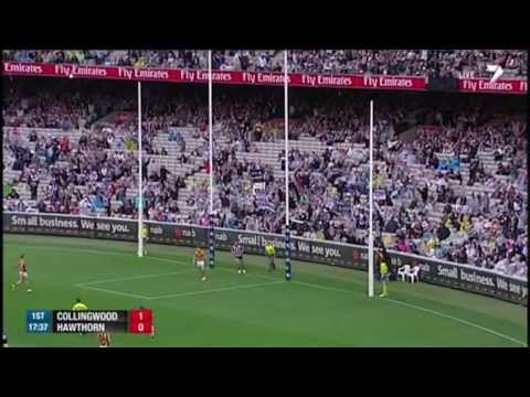 hawthorn - Highlights from Round 3, 2013 as Buddy Franklin and the Hawks storm home against the Pies. For more video, head to http://afl.com.au.