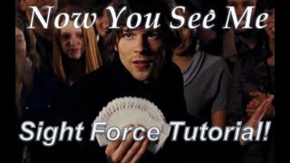 Video Now You See Me Card Trick Tutorial! (Sight- Force) MP3, 3GP, MP4, WEBM, AVI, FLV Mei 2018