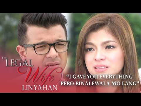'I gave you everything pero binalewala mo lang' | The Legal Wife Linyahan (Finale Episode)