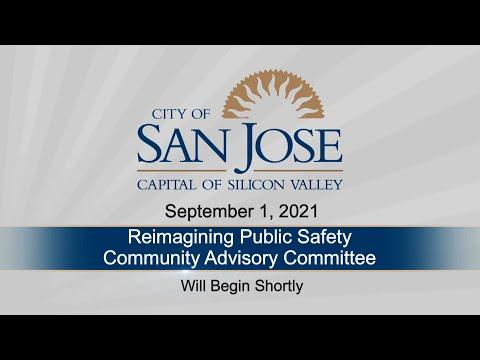 SEP 1 2021 Reimagining Public Safety Community