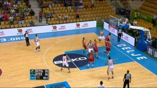 Play of the Game A. Tomic CRO-GEO EuroBasket 2013