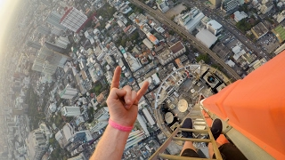 "In this video I climb the tallest building in Bangkok.Follow me on Instagram @MrAllyLaw & Snapchat ""ItsAllyLaw""Follow me on my other Social media channels:https://www.Instagram.com/MrAllyLawhttps://www.Facebook.com/AllyALawhttps://www.Twitter.com/AllyALawFilmed with the GoPro hero 5: http://amzn.to/2hVbEu1"