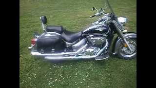 3. 2005 SUZUKI BOULEVARD C50 805cc START  UP & WALK AROUND