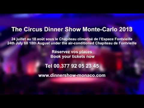 The Circus Dinner Show MonteCarlo 2013