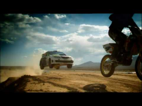 Ken Block в передаче Top Gear (music by Superbarrio)