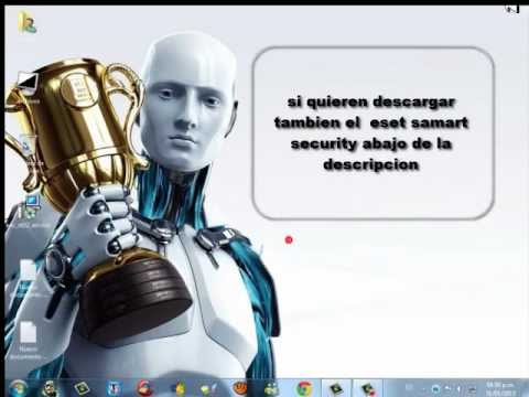 descargar eset nod32 o smart security version 6 ,en español no beta, y con licencia hasta 2016.
